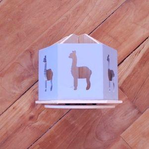 Other - ♻️ New Grey Wooden Llama Storage Caddy